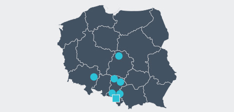 Map of Poland - Aktrion