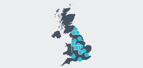 Map of UK- Aktrion